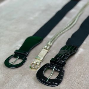 Accessories - Women's Belts- Set of 3